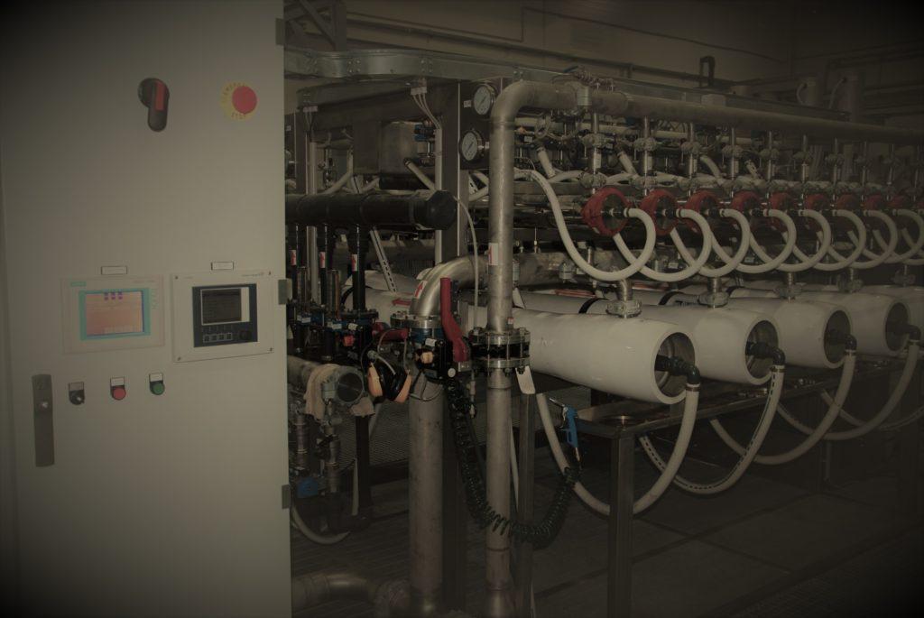 Установка ультрафильтрации сточных вод