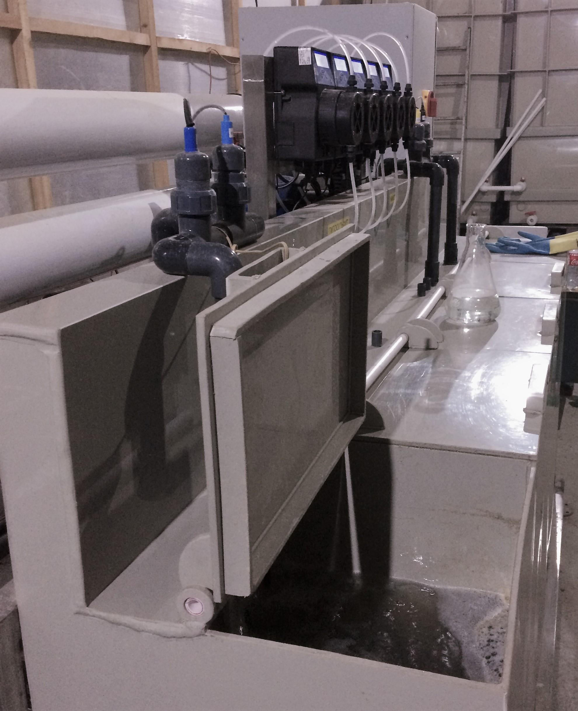 Реактор сточных вод